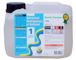 Grow;  Advanced Hydroponics Grow schafft optimale Voraussetzungen f
